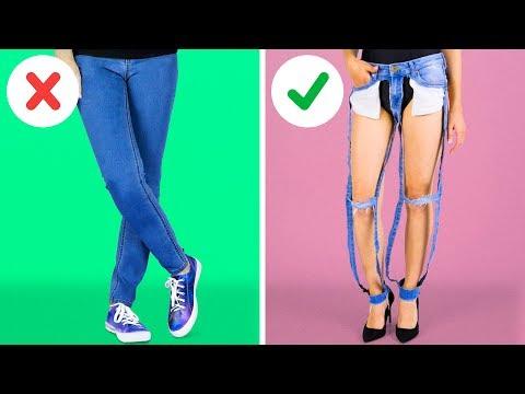 30 STYLISH DIY SUMMER CLOTHES REVAMPS (видео)