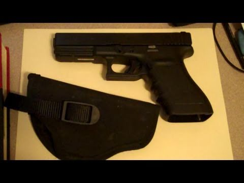 Gun Holsters, Drawing Pistols and Trigger Control