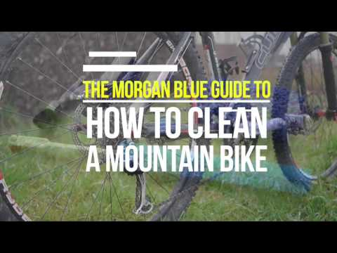The Morgan Blue guide to how to clean a mountan bike (видео)