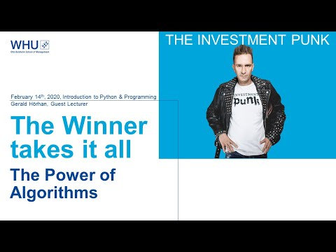 The Investment Punk at WHU | Gerald Hörhan on Python and Programming