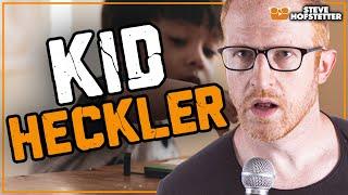 5-year-old Heckler Takes On Comedian And Gets Schooled - Steve Hofstetter