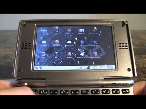 handheld console - This is a handheld Linux desktop computer/emulation machine that I have been waiting four years for... was it worth the wait? See videos earlier by going to ...