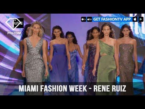Miami Fashion Week Spring/Summer 2018 - Rene Ruiz | FashionTV