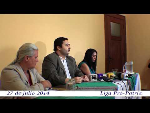 """Video. """"Conferencia antejuicio contra la CSJ (27 jul 2014)"""
