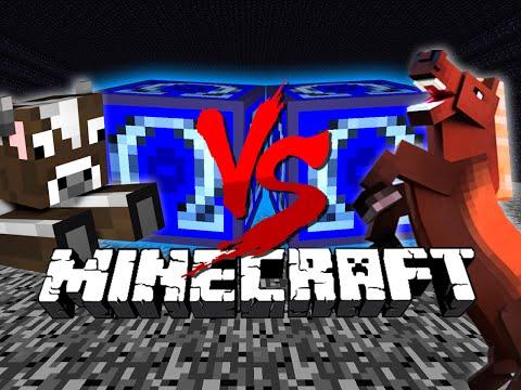 Minecraft: OMEGA LUCKY BLOCK CHALLENGE | Morph Mod Hunt
