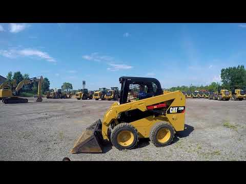 CATERPILLAR MINICARGADORAS 236D equipment video X3Y4cOPAekY