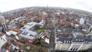 Leuven Belgium  city pictures gallery : Leuven, Belgium - drone flight