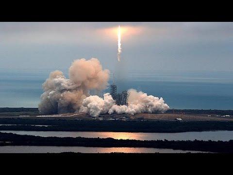 Πετυχημένη εκτόξευση του πυραύλου της Space X