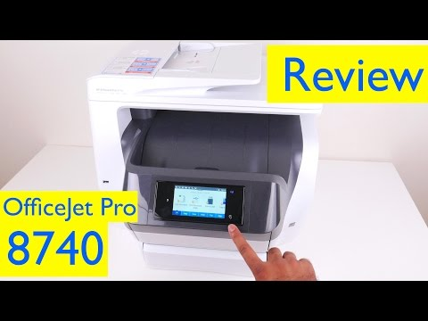 HP OfficeJet Pro 8740 Review - All-in-One Wireless Inkjet Printer