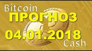 BCH/USD - Bitcoin Cash прогноз цены / график цены на 4.01.2018 / 4 января 2018 года