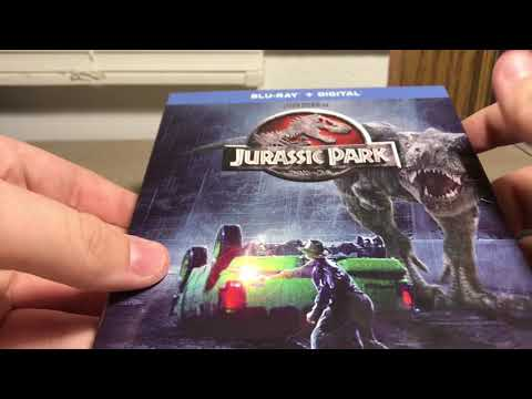 Jurassic Park Blu-Ray Unboxing And Review