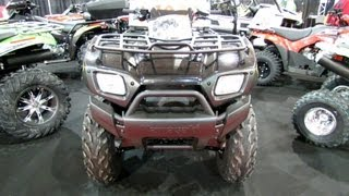 2. 2013 Kawasaki Brute Force 650 Utility ATV - 2012 Salon National du Quad - Laval, Quebec, Canada