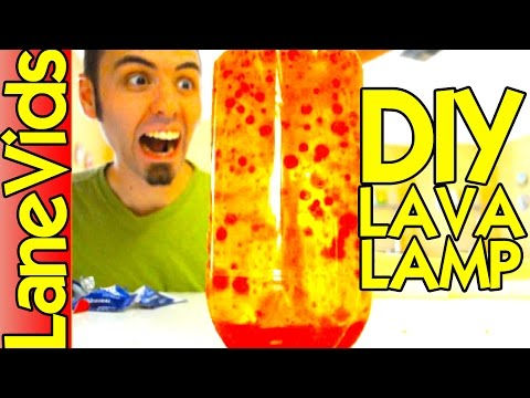 Cum sa construiesti o lampa de lava