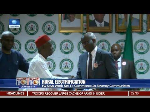 FG Restates Commitment To Electrify Nigeria