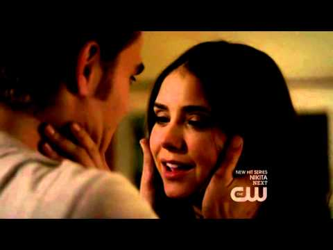 The Vampire Diaries | Season 2 Episode 11 | 2x11 | Elena's and Stefan's Kiss Scene
