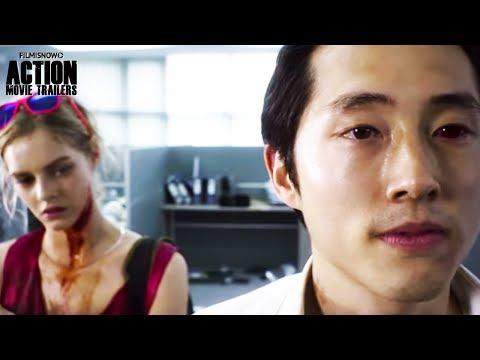 MAYHEM Official Trailer | Steven Yeun Action Horror Movie