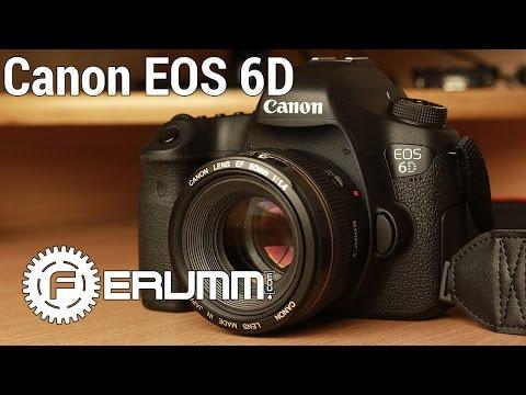 Canon EOS 6D и Canon EF 50mm f/1.4 полный видеообзор. Особенности Canon EOS 6D от FERUMM.COM