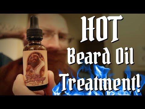 Beard oil -  Hot Oil Beard Treatment! Best Beard Conditioning Tip Ever?