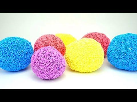 Сюрпризы из шарикового пластилина - DomaVideo.Ru