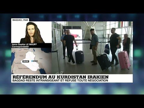 Référendum kurde : les vols internationaux de et vers Erbil bientôt suspendus
