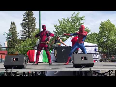 Taylor Swift - Shake It Off (Dance By DEADPOOL And SPIDER-MAN)