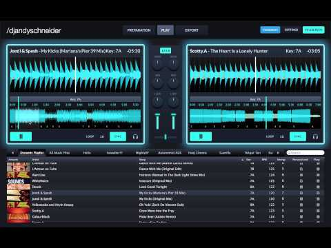 "Official ""Flow DJ Software"" tutorial on how to DJ in the Play view"