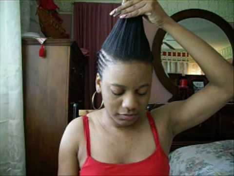 Hairstyles 2012 Invisible Part Full Sew In Tutorial Wonderful Clip ...