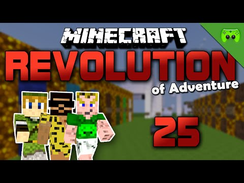 MINECRAFT Adventure Map # 25 - Revolution of Adventure «» Let's Play Minecraft Together | HD