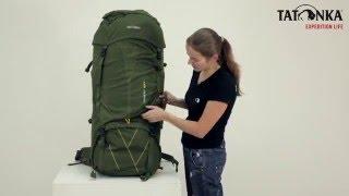 Объемный и надежный туристический рюкзак. Объем 100+15л. Tatonka Tamas 100