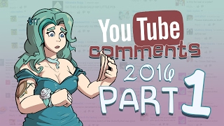 """Click """"Show More"""" to see the Cast, Music, and links to the other Comment Videos!----Welcome to YouTube Comments (2015) Part 1https://www.youtube.com/watch?v=4ilNaGZbylwWelcome to YouTube Comments (2015) Part 2https://www.youtube.com/watch?v=3ZJOndmFqTsWelcome to YouTube Comments (2016) Part 1You're Here!Welcome to YouTube Comments (2016) Part 2https://www.youtube.com/watch?v=AncyhOtS1z4----CASTSamantha Chanhttps://www.facebook.com/SamanthaChanVA/https://www.youtube.com/user/ChibiSammiiTom Laflinhttps://www.youtube.com/user/arimnaesKaiserNekohttps://www.youtube.com/user/TeamFourStarCaleb Hyleshttps://www.youtube.com/user/CalebsCoversKeenarnorhttps://www.youtube.com/user/KeenarnorAnthony """"Antfish"""" Sardinha http://www.antfishvo.comKiane """"Chula"""" Kinghttp://chulacabra.tumblr.com/Griffin Puatuhttp://griffvoices.comChristopher Gilstraphttps://www.youtube.com/c/HarkVlogsMeredith SimsTwitter: @vasnapdragonRyan """"actorsAllusion"""" Hoylewww.tumblr.com/actorsallusionpresentsLucas BoggieTwitter: @LBoggieVoicesZack Maherhttps://www.youtube.com/user/MajinRebornhttp://majinva.tumblr.com/MEMJ0123https://youtube.com/user/MEMJ0123Brennan WilliamsTwitter: @GREATBLACKOTAKUGaijinGoombahhttps://www.youtube.com/user/GaijinGoombaMichaela Lawshttps://www.youtube.com/user/VAMichaelaLawsSheila GagneTwitter: @SMLinVAhttp://sheilamgagne.com/Jonah Scotthttp://jonahscottva.tumblr.com/Faust Kells (3rd Wheel)https://www.youtube.com/watch?v=yTDoTIsDaA8William T. Sopphttp://bigmovingtarget.tumblr.com/Alejandro Saab (KaggyFilms)Twitter: @KaggyFilmsDaniel Acosta """"USO Squad""""RaspdereTwitter: @raspdereScott FalcoTwitter: @scottfalcoProZDwww.youtube.com/user/ProZD/videoShippiddgewww.youtube.com/ShippiddgeIsabelle Amponinhttp://youtube.com/MemoriesOfSoraJay Barrett (3rd Wheel)https://www.youtube.com/channel/UCd83kSpJ-jJGCE_L8YaoakgDaisy Guevara """"Saru""""Twitter: @DaisyG_VAhttps://www.youtube.com/user/sarurocks4lifeSiv (Spectral Fusion)Twitter: @spectralfusion---MUSICGravity Rush - Pleasure QuarterThe World Ends Wi"""