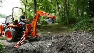 7. Kioti Tractor Backhoe Review