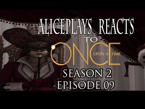 ONCE UPON A TIME REACTION SEASON 2 EPISODE 9 - QUEEN OF HEARTS