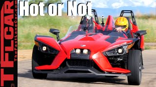 8. 2016 Polaris Slingshot Road, Track & 0-60 MPH Review - TFL Leaderboard Hot or Not Ep.7