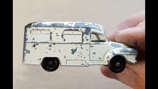 Video MATCHBOX Restoration No 14c Bedford L.C.C. Ambulance 1962 MP3, 3GP, MP4, WEBM, AVI, FLV Desember 2018