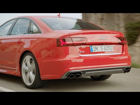 ► 2015 Audi S6 Sedan test drive (Good Exhaust Sound)