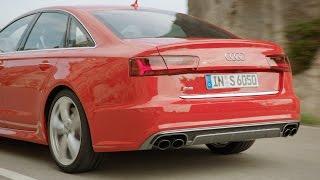 ► 2015 Audi S6 Sedan test drive (Good Exhaust Sound)