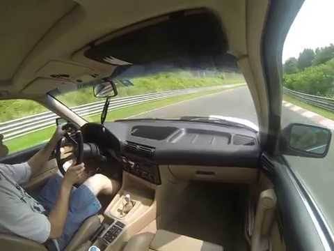 Crazy Insane DRIFTs @ Nordschleife Nürburgring with BMW ///M5 E34
