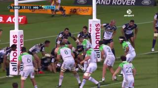 Brumbies v Highlanders Rd.5 Super Rugby Video Highlights 2017