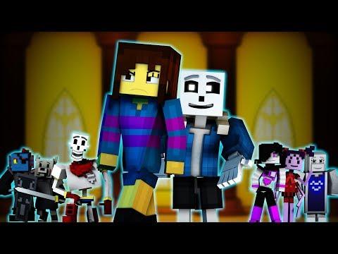 """Judgement"" | Minecraft Undertale Music Video [GENOCIDE] (Song by TryHardNinja)"