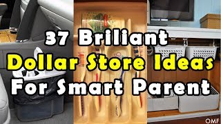 37 Brilliant Dollar Store Ideas For Smart Parent