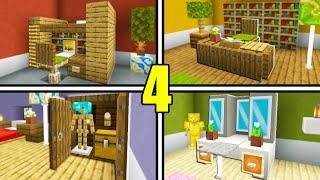 4 Minecraft Bedroom Furniture Decoration Ideas!