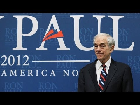 slatester - Follow @SlateViral, Watch more: SlateV.com, Facebook.com/slatevideo Congressman Ron Paul may be running dead-last in the polls, but his fundraising efforts p...