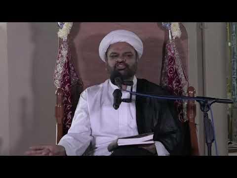 1440 AH – Ramadhan – 6 – Shab – Majlis