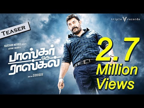 Download Bhaskar Oru Rascal - Action Teaser | Arvind Swami, Amala Paul | Amrish | Siddique HD Mp4 3GP Video and MP3