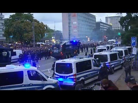 Unruhen im sächsischen Chemnitz - Ausgangspunkt war ...