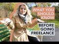 Download Lagu WHAT YOU SHOULD KNOW BEFORE GOING FREELANCE |  PART 1 Mp3 Free