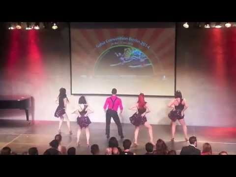 Caramelo Latin Dance Wins 1st Place at Salsa Convention Berlin 2014 - Cha Cha Boogaloo Student Show