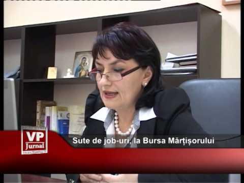 Sute de job-uri, la Bursa Mărțișorului