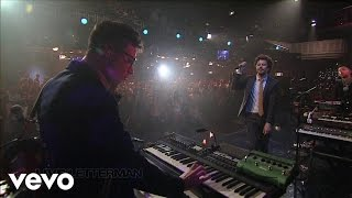 Passion Pit - Little Secrets (Live on Letterman)