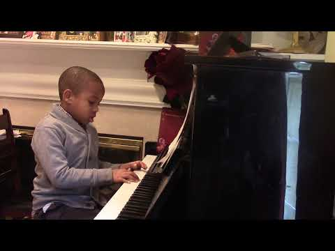 Jaden Madu ;Tick Tock The Jazz Clock .Piano Teacher; Annie Hill